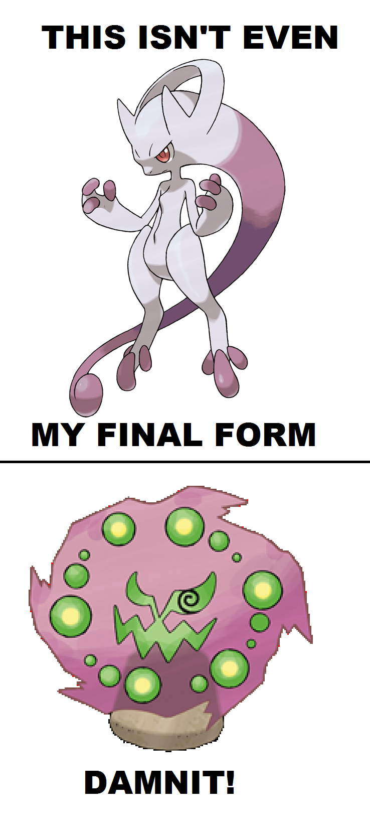 Mewtwo's Final Form by TPPR10 on DeviantArt