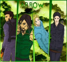 Arrow - Team island by Dayz26
