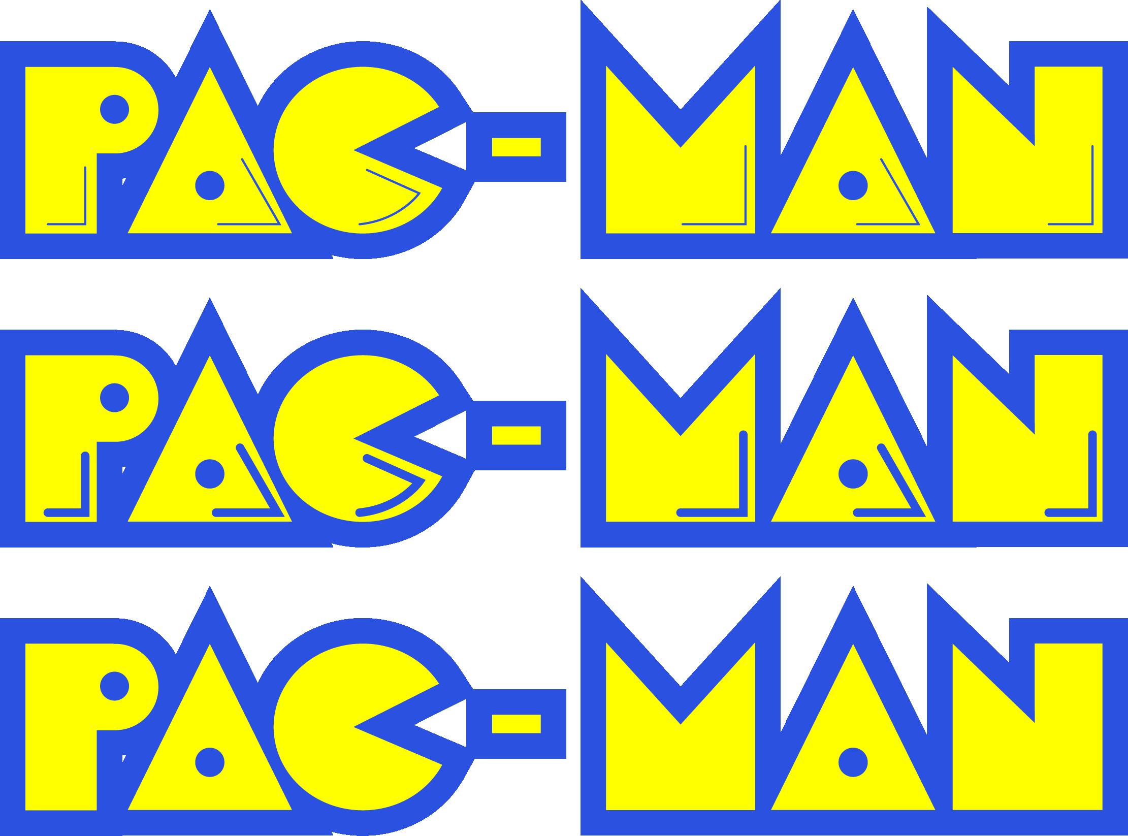 Pac man logo 03 by dhlarson designs interfaces logos logotypes 2013