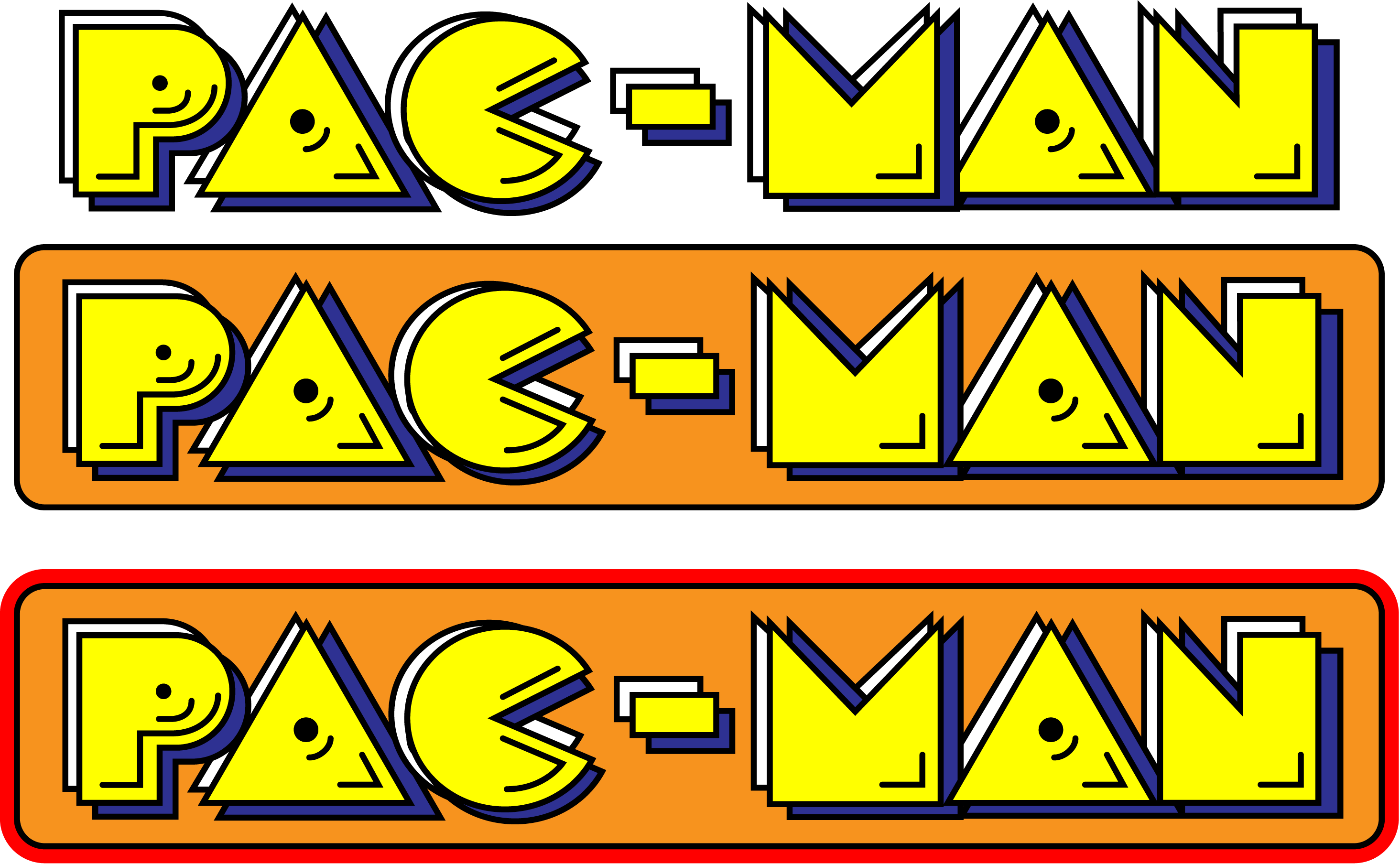 pacman logo - photo #2