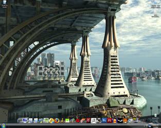 Desktop Screenshot April '08 by StrikeFear13