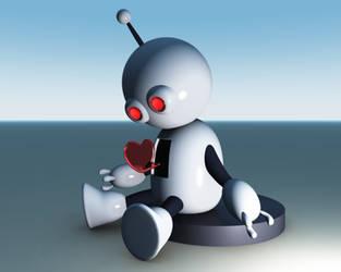 Robot 3d by StrikeFear13