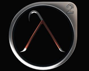 Half-Life Crowbar Lambda by StrikeFear13