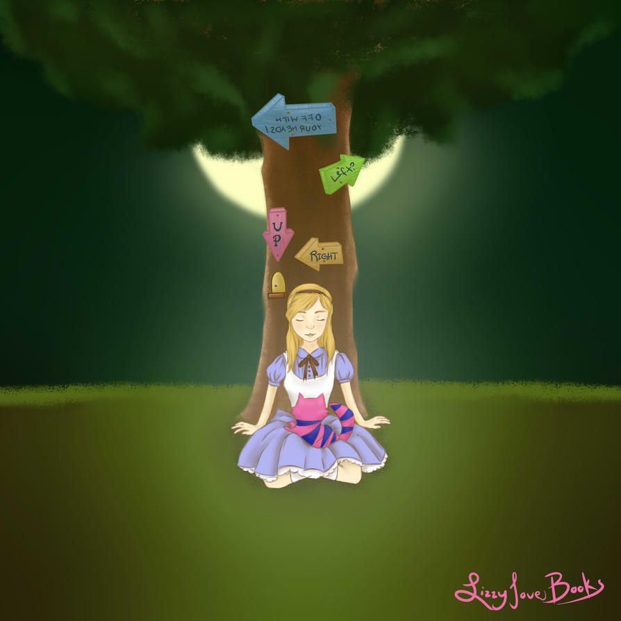 Alice in Wonderland by lizzylovesbooks