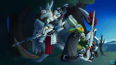 Commission: Dragonsfriend90 by BrassDragonLord