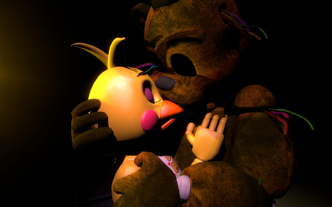 [Golden Freddy x Toy Chica] Redemption by FazbertEntertainmen