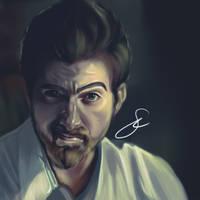 Rhett and his eyebrows. by Sarah--Elizabeth