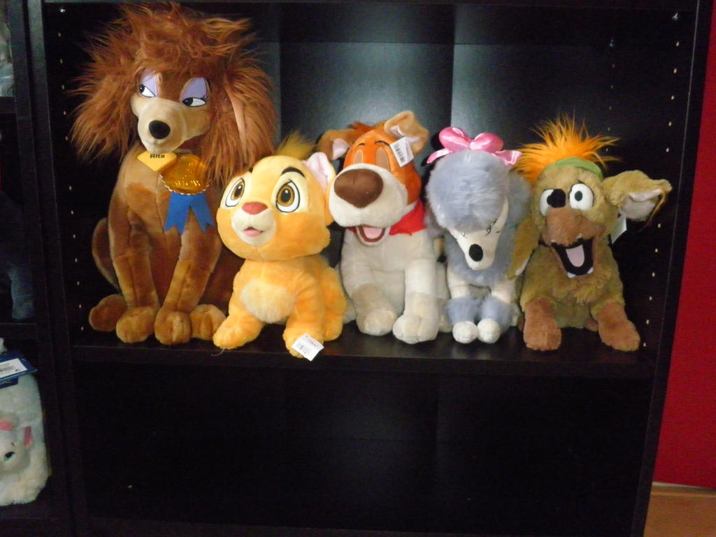 Oliver and company plush Disney store by 101sanneferdi on ...