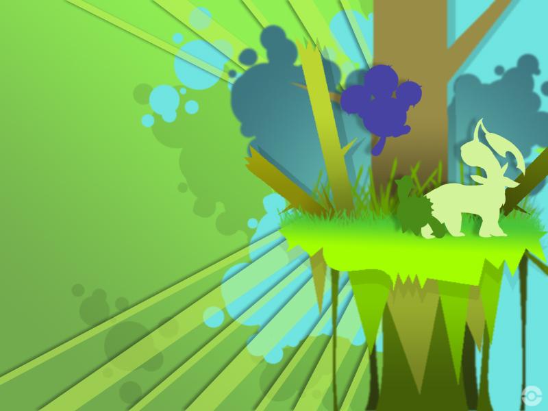 Grass Pokemon Wallpaper by Duckie-Frogs