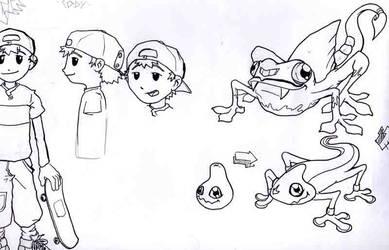 Game sketch 1 by mrkaizen