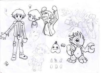 Game sketch 2 by mrkaizen