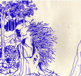 tree witch sketch