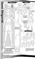 Naruto OC: Uano Shikaraki by Junez-chan