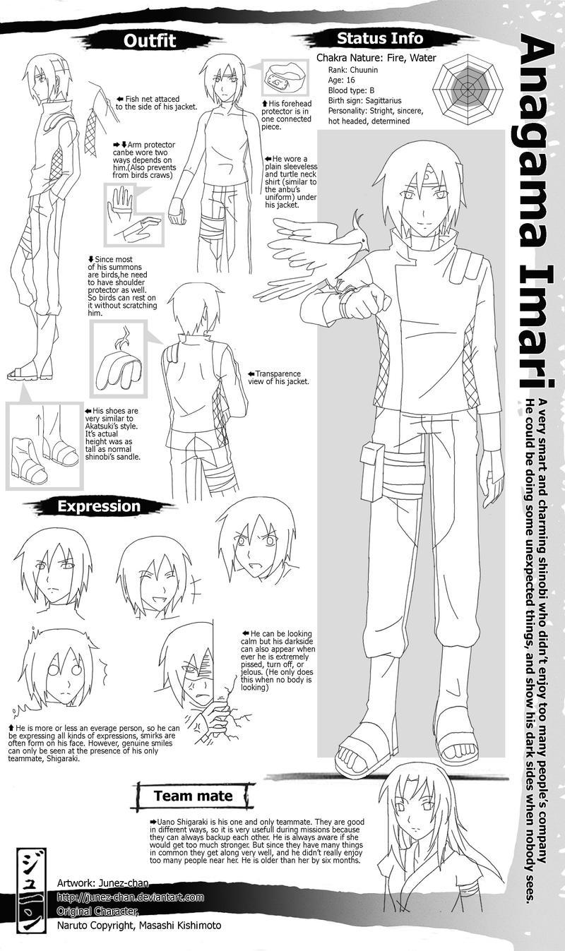 Naruto OC: Anagama Imari by Junez-chan