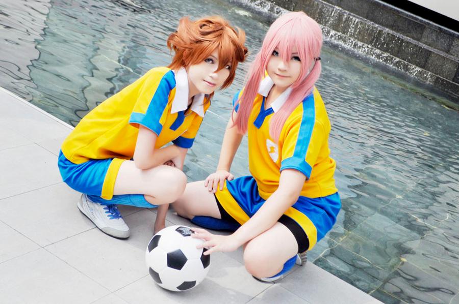 Inazuma11 GO: Kaze and Kiri by Junez-chan