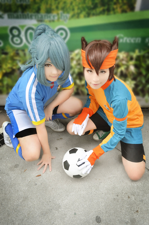 Inazuma11: KazemaruXEndou by Junez-chan