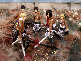 Attack on Titan: 104 by Junez-chan