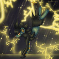 luxray art by meaghanlroyal