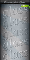 7 Glass Text Styles