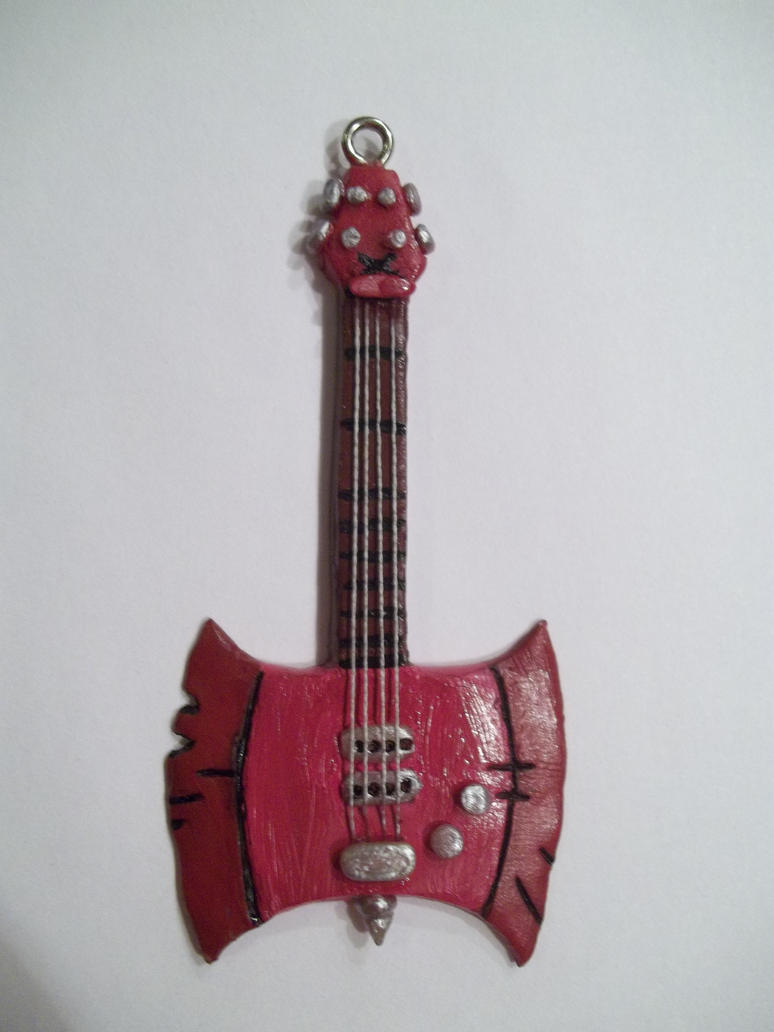 Marceline's/Marshall Lee's axe bass by Krinkee