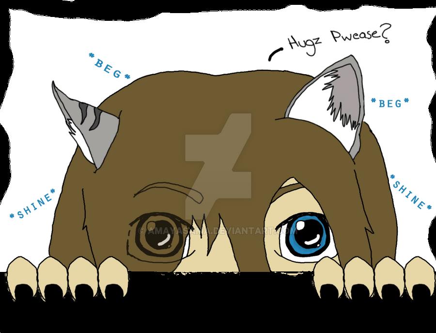 Huggles Please? by Amayasama