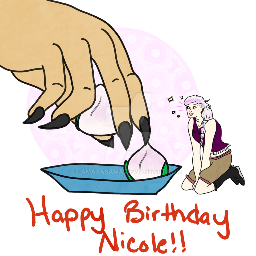 Happy Birthday Nicole! by Amayasama