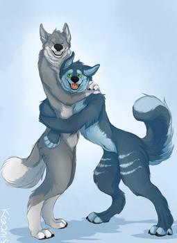 Tiwolf et Snokami
