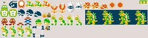 Custom NES Mario Enemies by Drazile12