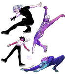bnha - Villains on Ice