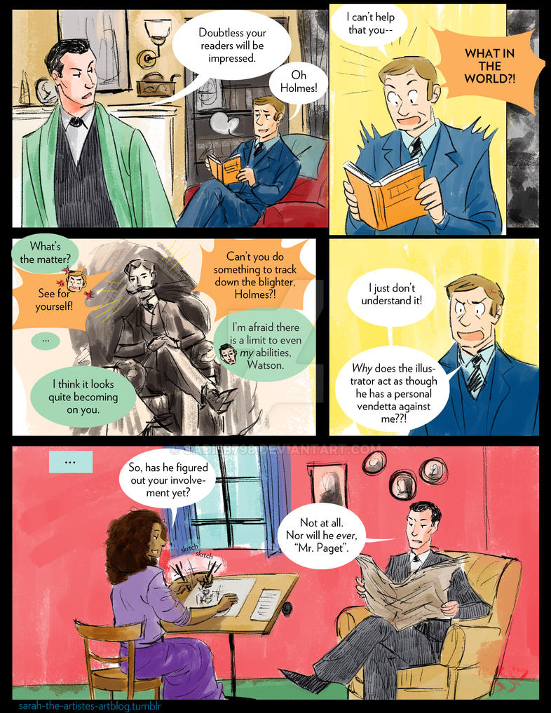 Blame it on the Illustrator by sadieB798