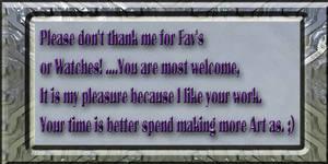 no thank you DA tekst by FractalCaleidoscope