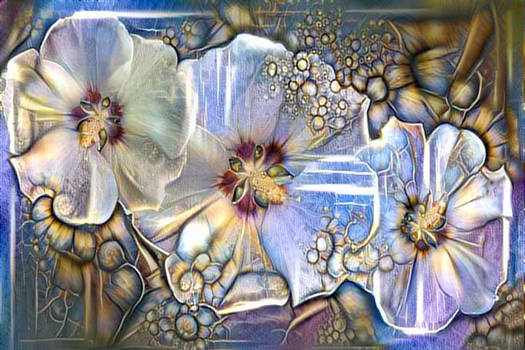 Magic flowers.