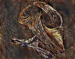 Ancient alien skull by FractalCaleidoscope