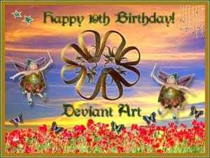Happy Birthday Deviant Art