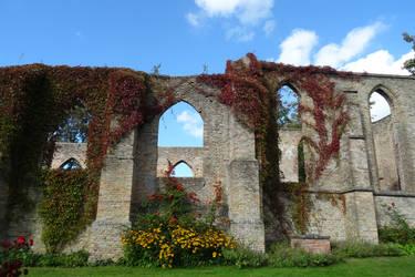 Stock,  Ruin church