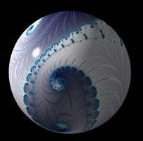 Free, stock  Fractal sphere/ball