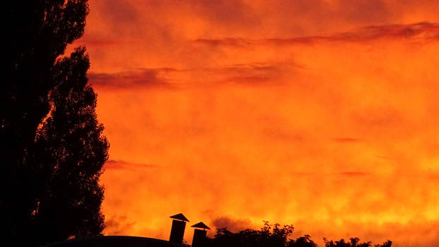 Free, stock.  Amazing sunset changes