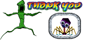 Thanks Creature by FractalCaleidoscope