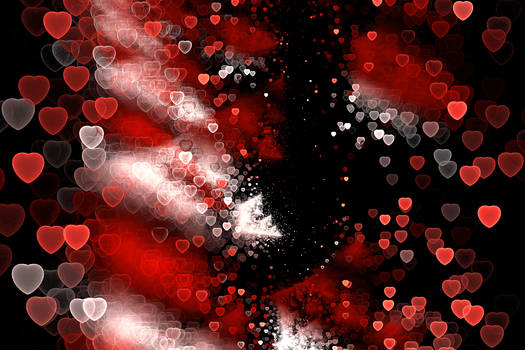 Stock, Streaming hearts red