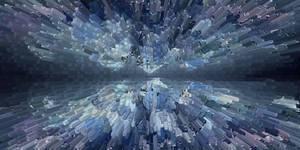 Texture crystal horizon