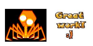 Great Work Creature Vuur