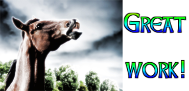 Great Work Paard