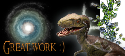 Great Work Dino