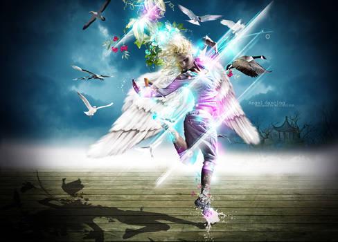 Angel dancing