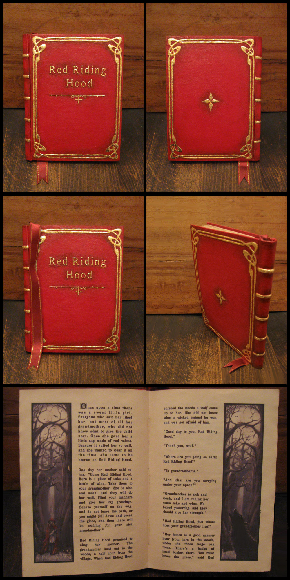Red Riding Hood - prop book by Maylar