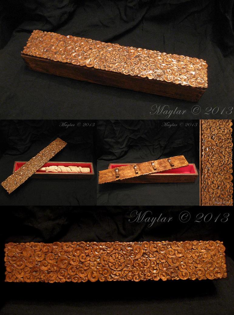 Dragon Wand Box by Maylar