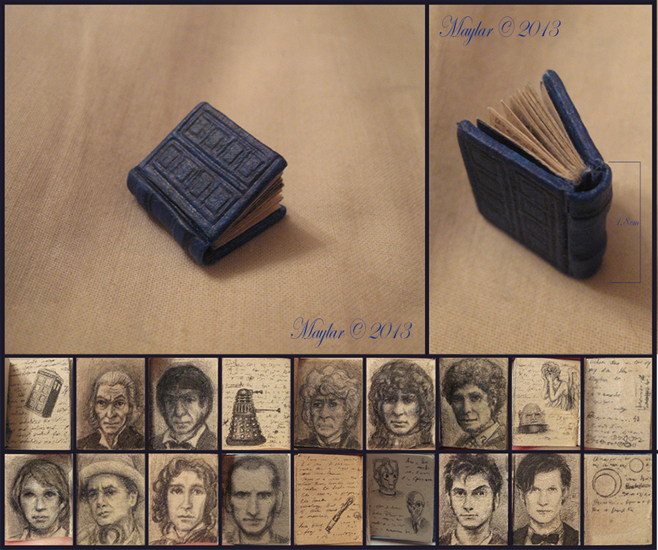 River Song Diary Miniature Book by Maylar