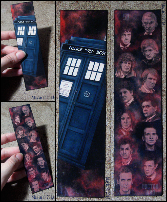 Doctor Who Bookmark by Maylar