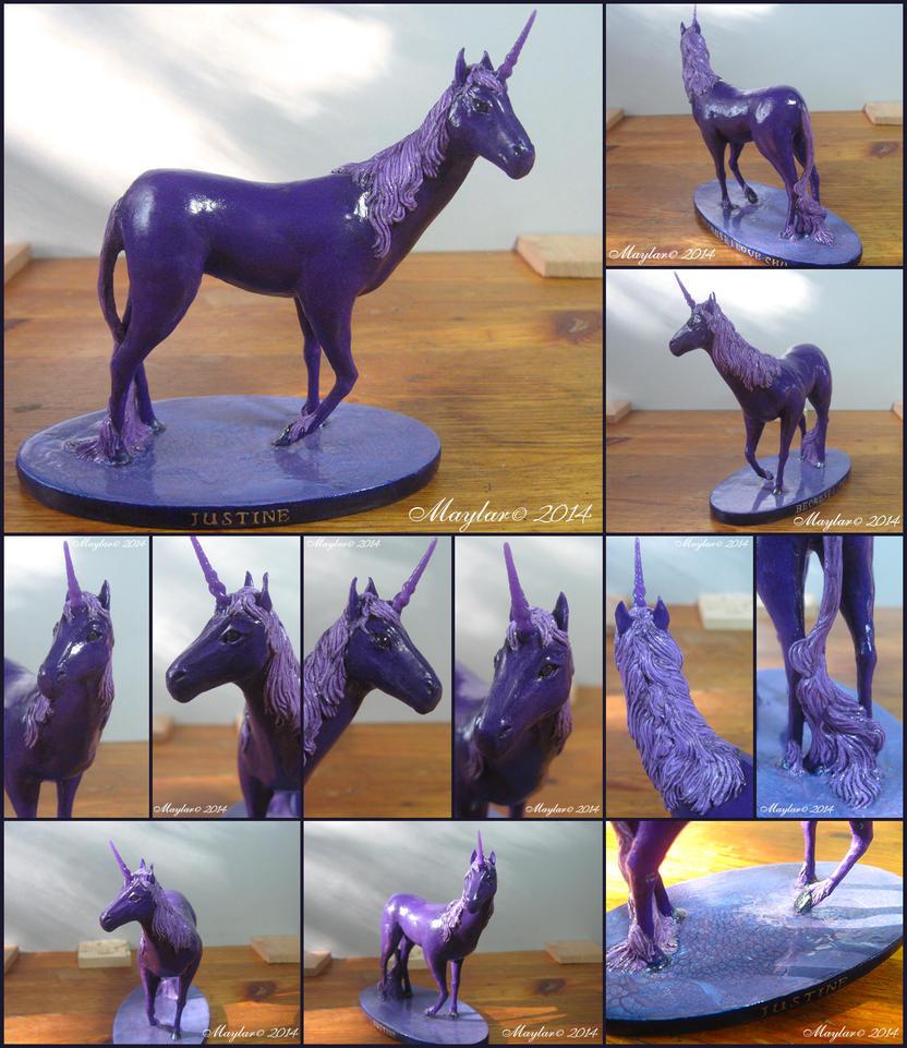 Purple Unicorn by Maylar