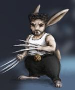 Wolverine bunny by Maylar